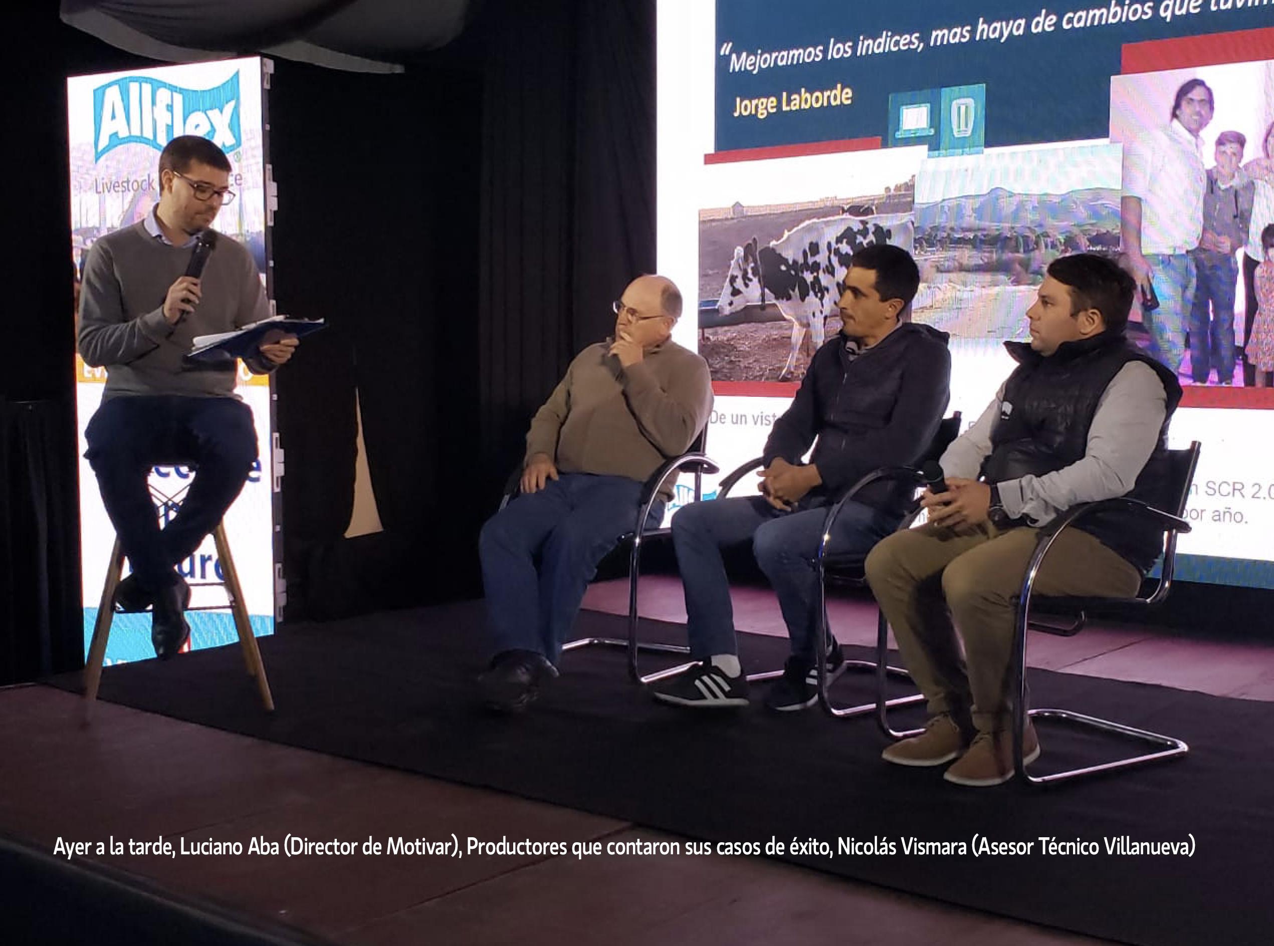 Presentación de Villanueva- Allflex de sistemas de monitoreo para vacas