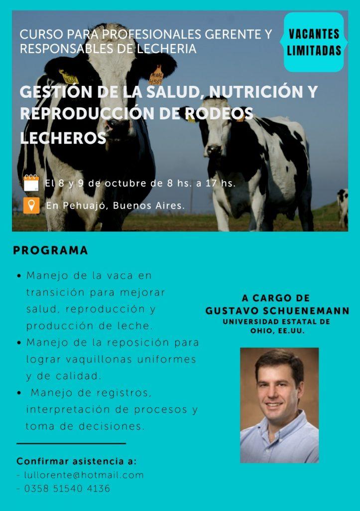 Curso sobre salud,nutrición y reproducción