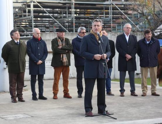 Sin rodeos, Etchevehere pidió «el voto del campo» en Palermo 2019