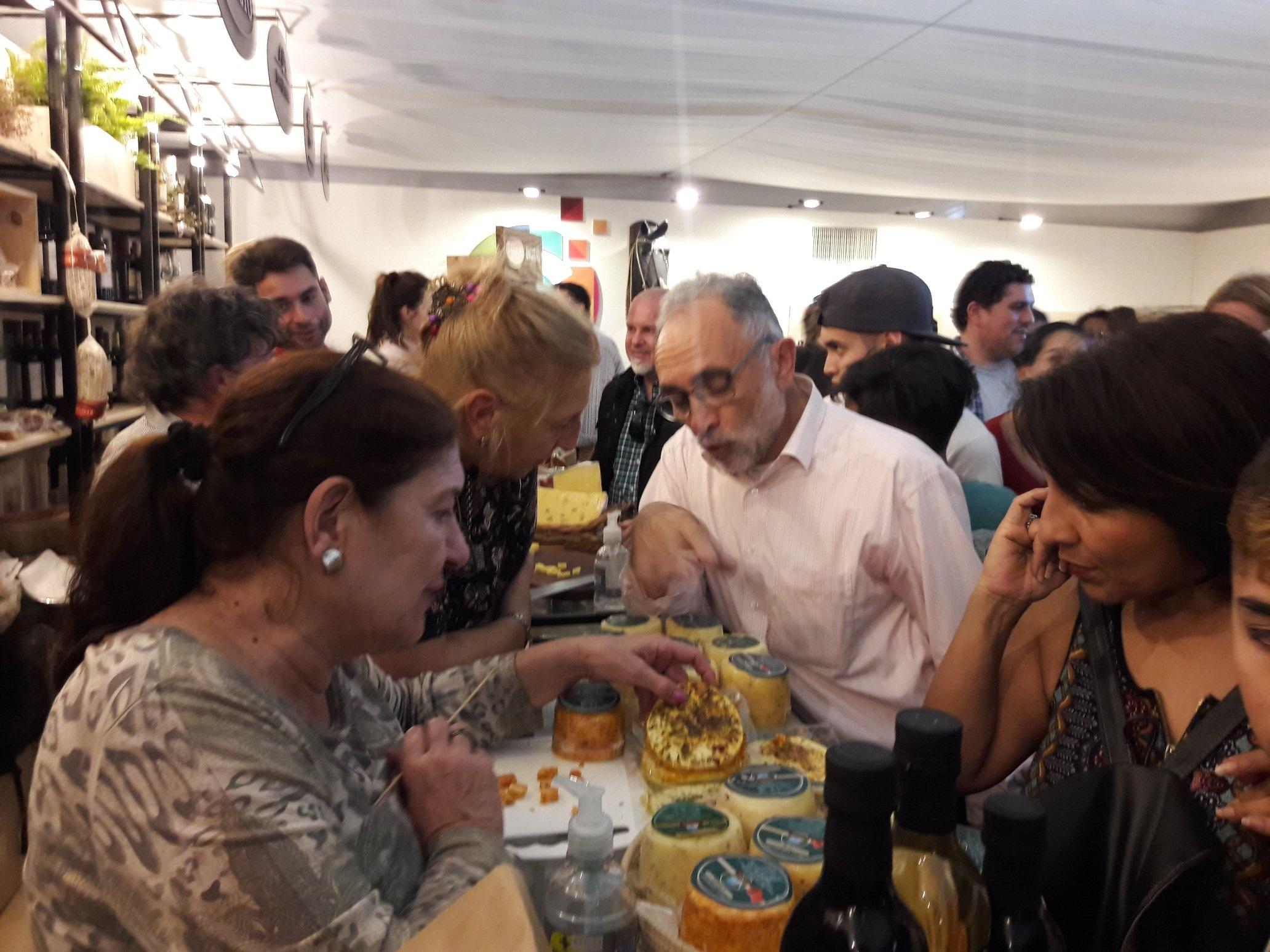 Los quesos de Córdoba llaman la atención en Palermo 2019