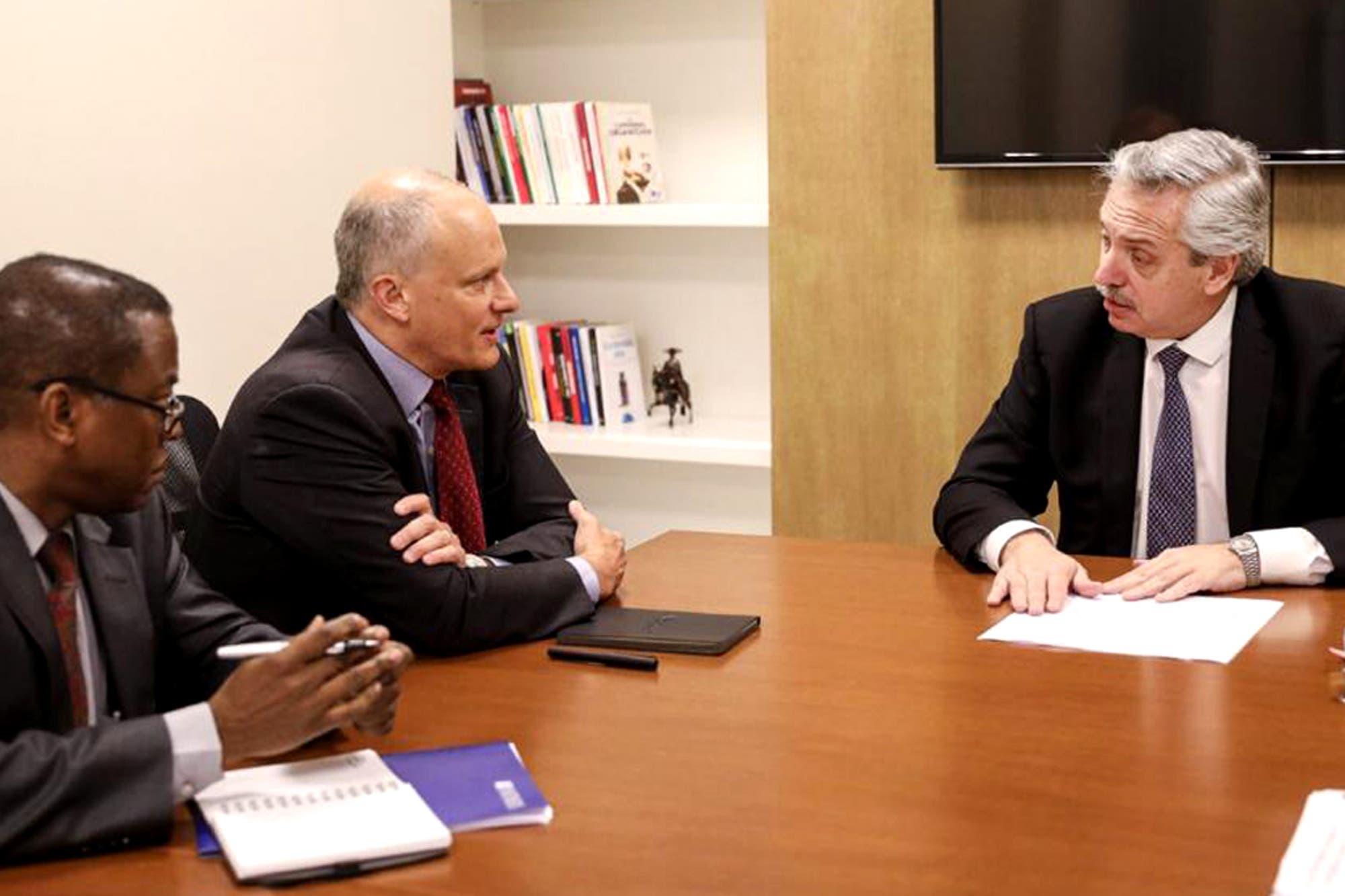 Alberto Fernández se reunió con el FMI: financiaron la «fuga de capitales»