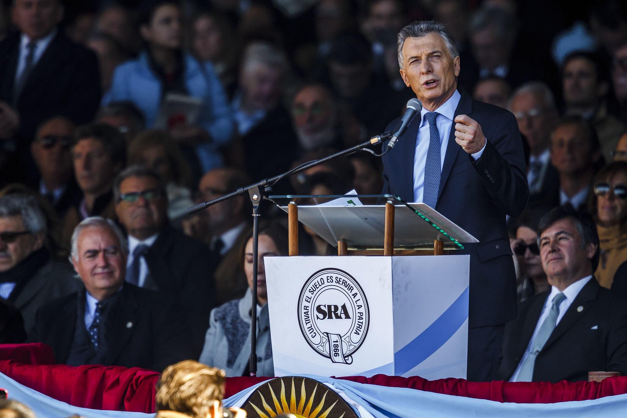 En Palermo 2019, Macri defendió el alcance del SIGLEA para que «los tamberos no vuelvan a perder nunca más»
