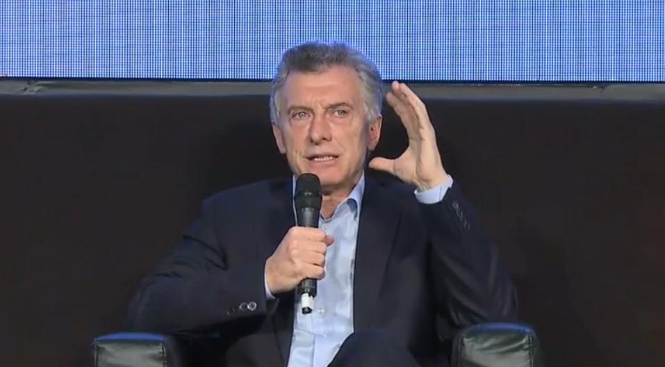 En Coninagro, Macri pidió «disculpas» y Alberto Fernández falto a la cita en Puerto Madero, donde vive