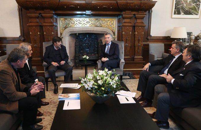 Macri ratificó ante la Mesa de Enlace que no hay cambios en retenciones
