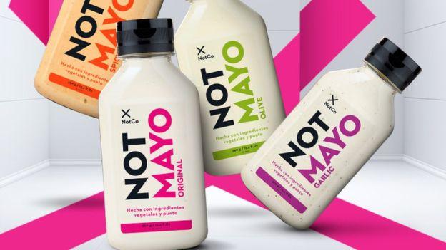 La chilena NotCo juega a vender leches, mayonesas y hasta carne sin vacas ni huevos