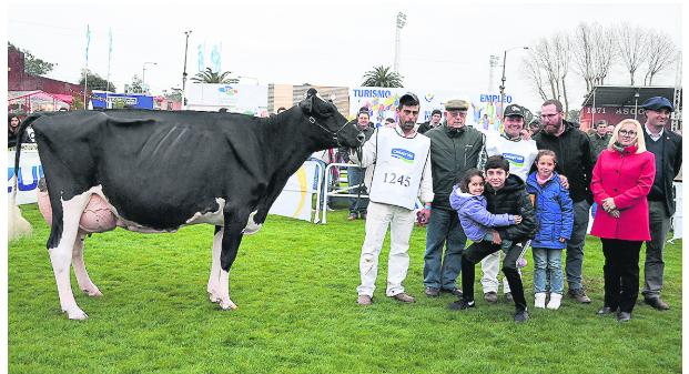 La Gran Campeona Holando en El Prado fue para una vaca de Antognazza