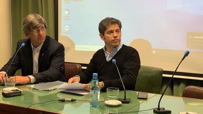 En Carbap, Kicillof desestimo reforma agraria o intervencionismo. Vidal propuso eliminar Ingresos Brutos en el 2020