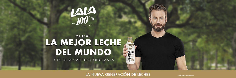 En México, actor Chris Evans, el Capitán América, promociona consumo de leche y estallan las ventas