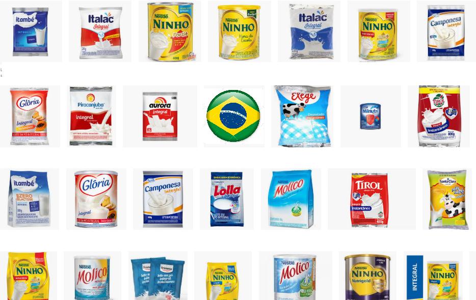 Cayó casi 60% la importación de leche y manteca en Brasil en octubre '19