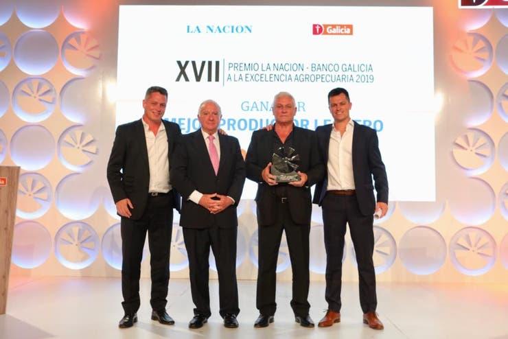 Chiavassa elegido como Mejor Productor Lechero por Excelencia Agropecuaria