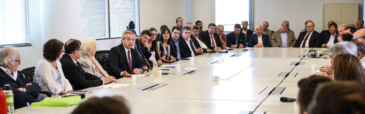Alberto Fernández preocupado por el hambre, invitó al sector agroindustrial al diálogo