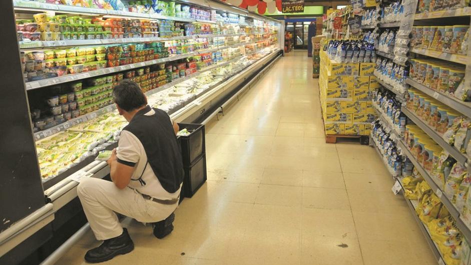 La venta de lácteos en las góndolas cayó 5,1% en enero-octubre '19