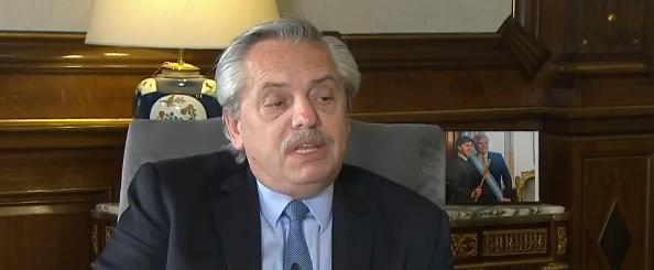Alberto Fernández pide aumentar 3 puntos más las retenciones