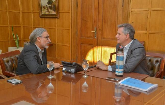 Luis Basterra se reunión con Etchevehere para avanzar con la transición en Agricultura
