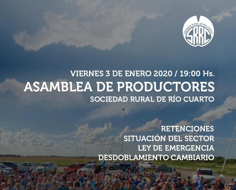 En Río Cuarto, el ruralismo analiza el viernes 3 la situación del campo