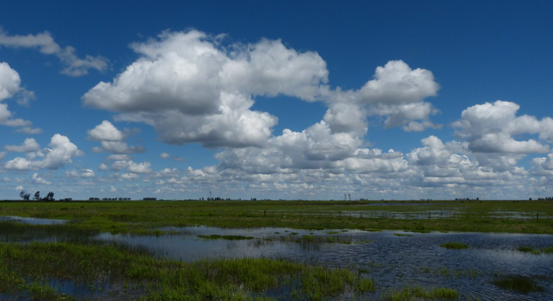 Hay pronóstico de tormentas en centro argentino, La Pampa y sudeste bonaerense