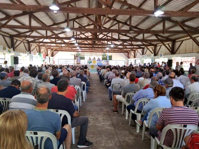 Carbap realizó una asamblea ruralista en Pergamino
