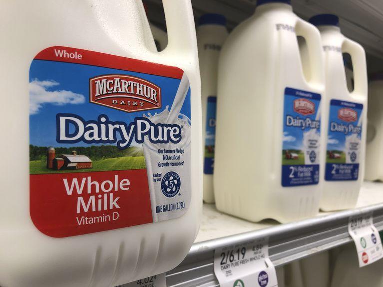 En Estados Unidos, miles salen del negocio lácteo