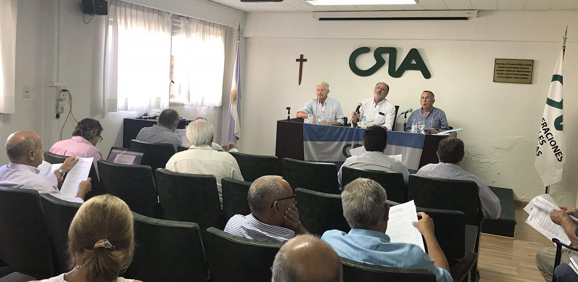 CRA propone a la Mesa de Enlace avanzar con un «cese de comercialización»