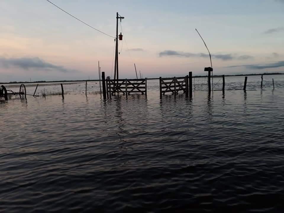El centro y sur de Chaco nuevamente afectado por inundaciones