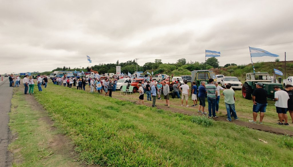 En San Nicolás, autoconvocados piden quitar retenciones o medidas de fuerza