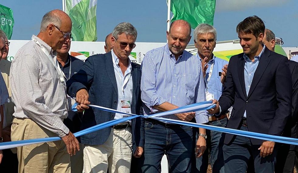 Expoagro 2020: Omar Perotti objetó el diferencial que se verifica entre insumos locales e importados