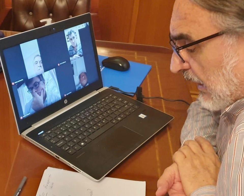 Basterra con la Mesa de Enlace por videoconferencia: el campo pidió financiamiento y la no intervención del mercado de carnes