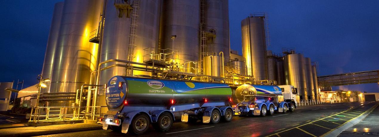 Fonterra pone a la venta sus granjas en China y caen sus exportaciones lácteas