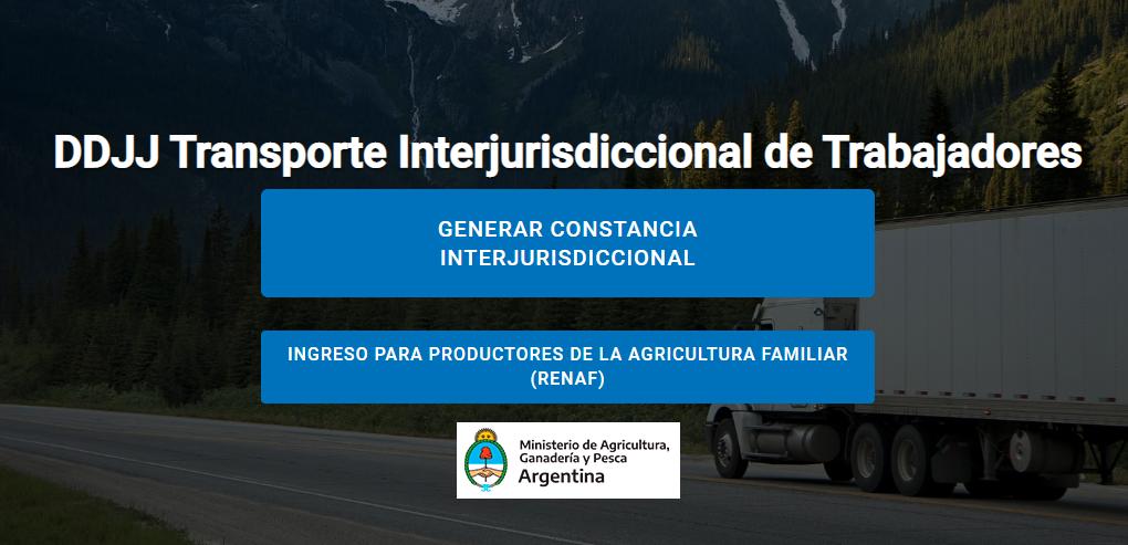 Empresas agropecuarias deberán obtener una constancia para tránsito interjurisdiccional