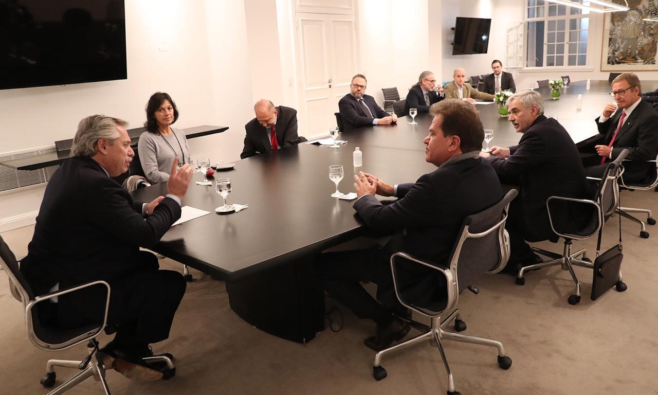 En Vicentin, el presidente abrió el diálogo y escucha propuestas «superadoras»