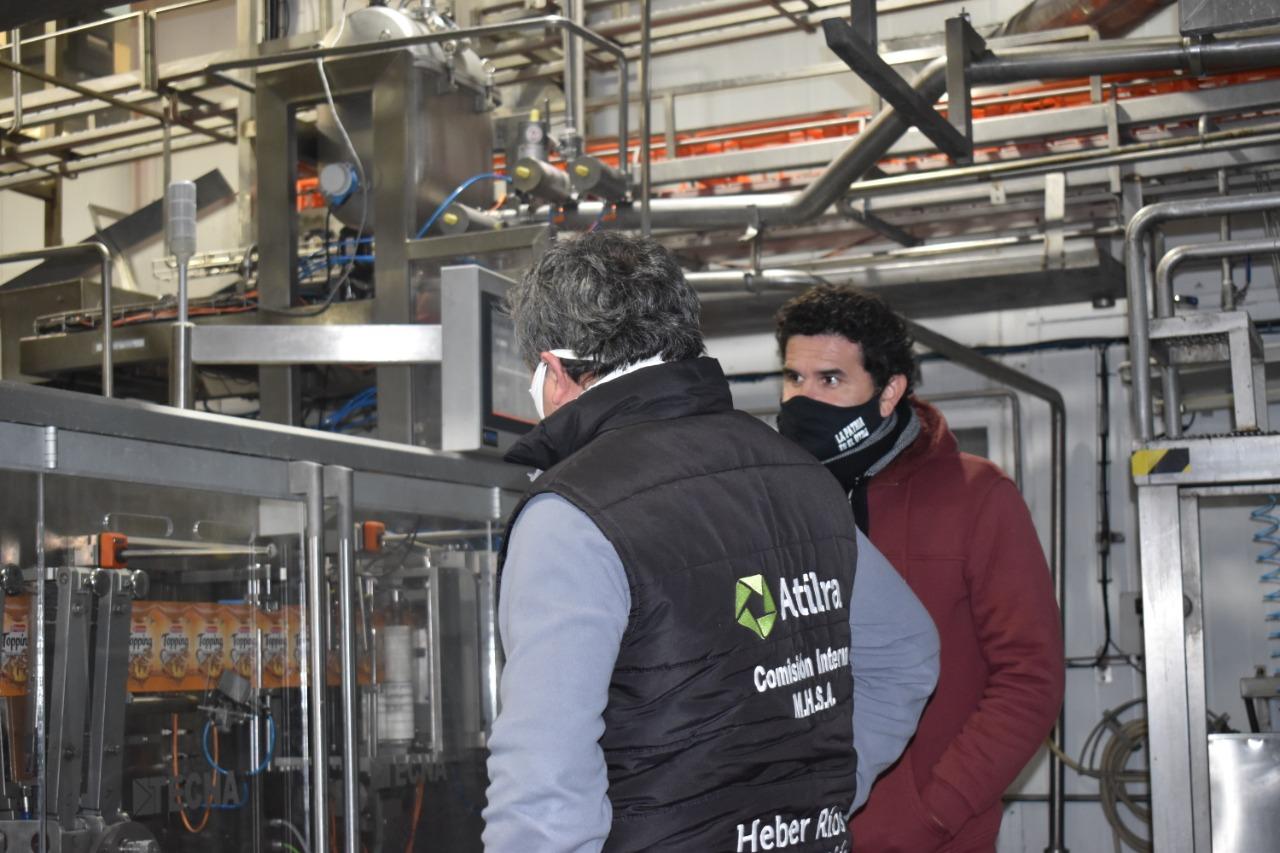 Atilra realiza el lunes 13 paro total en la industria láctea por reclamo salarial