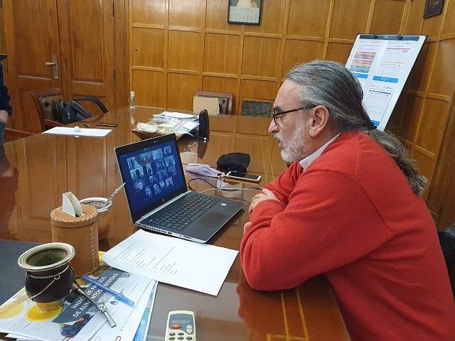Basterra mantuvo una nueva videoconferencia con la Mesa de Enlace: trataron tema leche