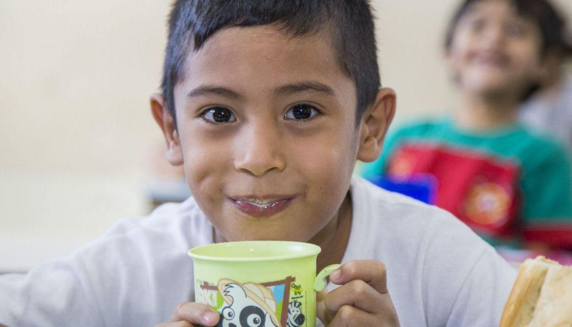 La ONU promueve hoy la celebración del Día Mundial de la Leche Escolar