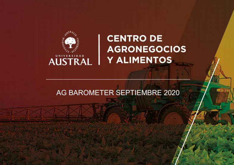 Los niveles de confianza del agricultor están igual que en setiembre '19 tras las PASO