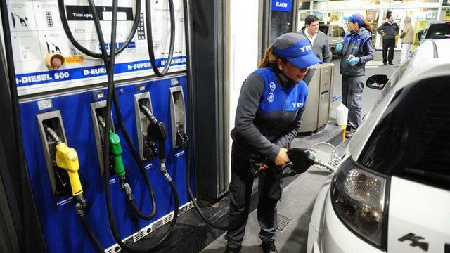 YPF aumentó su combustible un 3,5% en promedio
