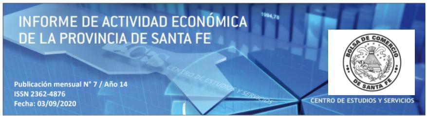 En Santa Fe, la actividad registró una caída del 3,0% en el primer semestre