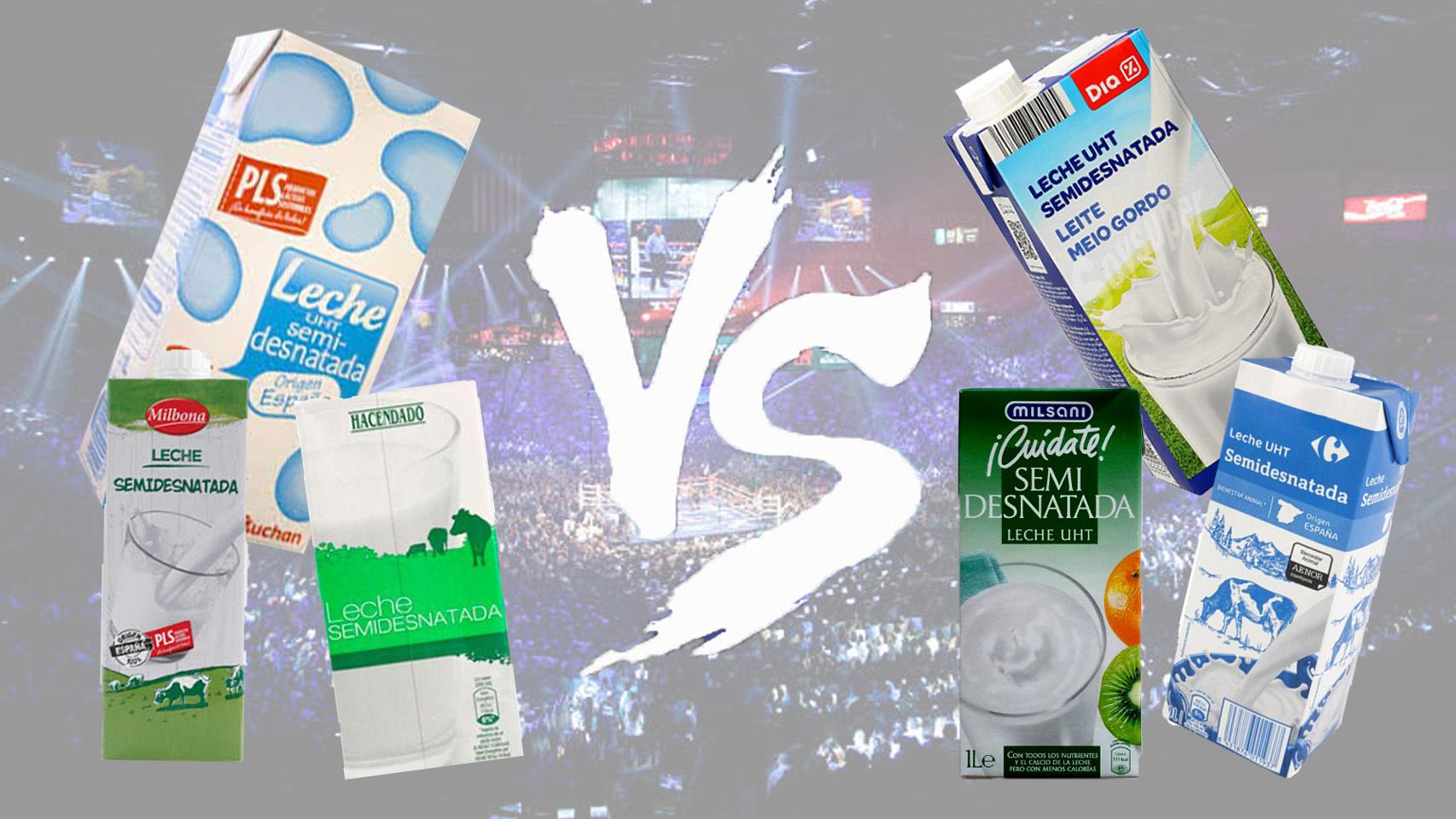 España: gran competencia en leche en supermercados