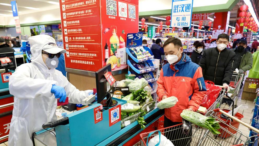 China: crecen las ventas de leche frente a la pandemia