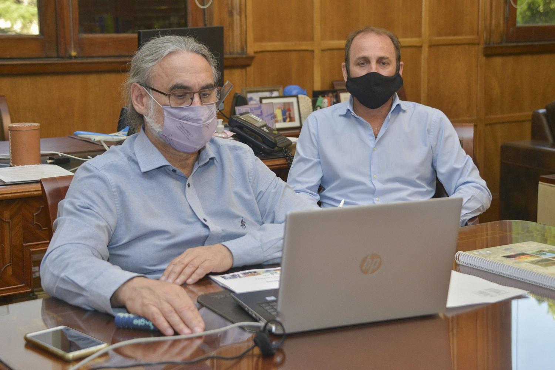 Basterra se reunió con autoridades del Centro de la Industria Lechera (CIL)