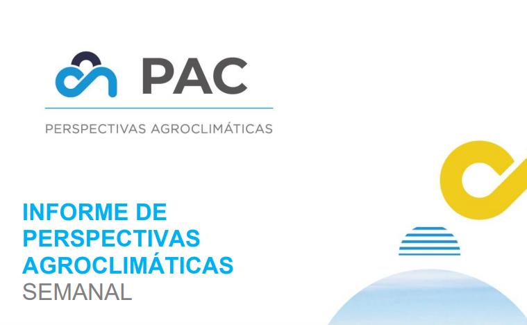 Una semana de clima cálido e ingreso de lluvias en zonas agrícolas