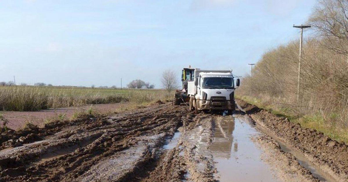 La principal demanda de infraestructuras de los tambos: caminos y electricidad