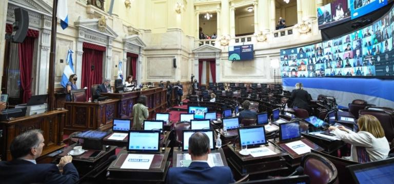 El Senado aprobó la ley del manejo del fuego