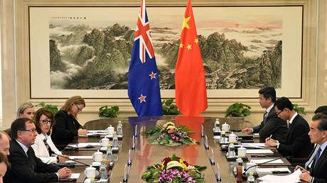 Nueva Zelanda y China: tratado de Libre Comercio