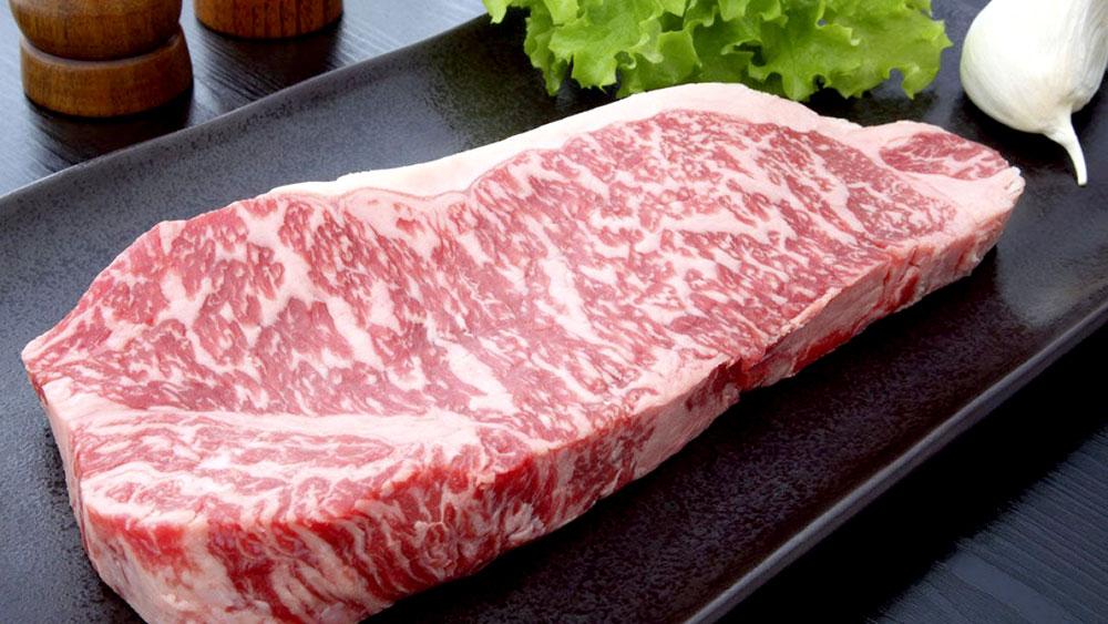 La carne japonesa de lujo que se vende a más de u$s 100 el kilo