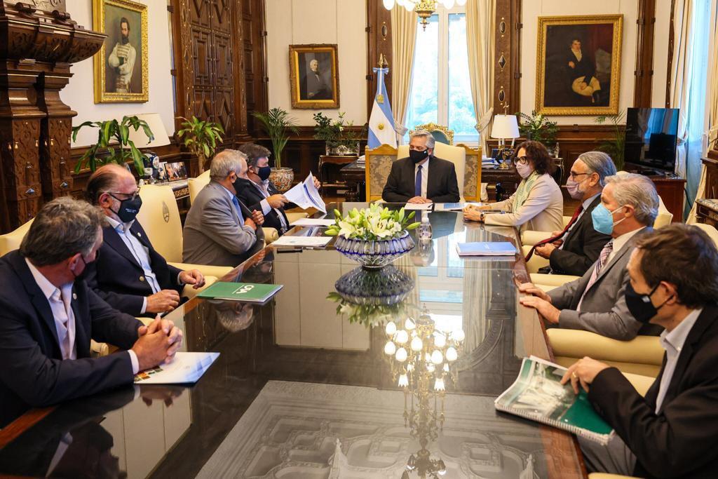AF recibió a la Mesa de Enlace en la Casa Rosada: no habrá suba en retenciones