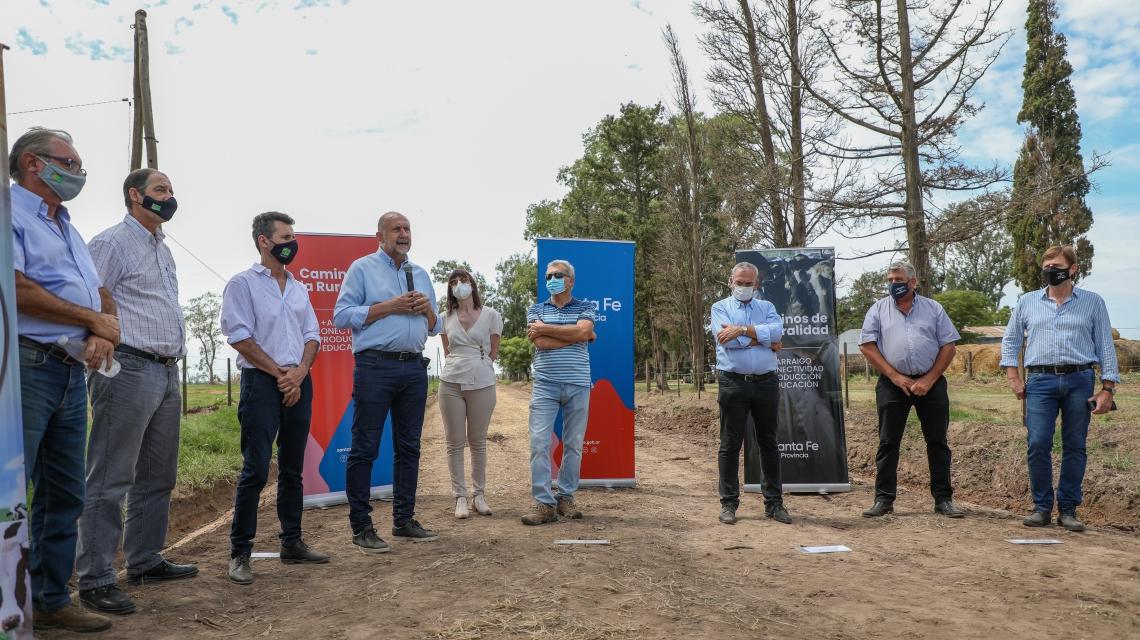 Santa Fe impulsa programa de caminos rurales en zonas lecheras
