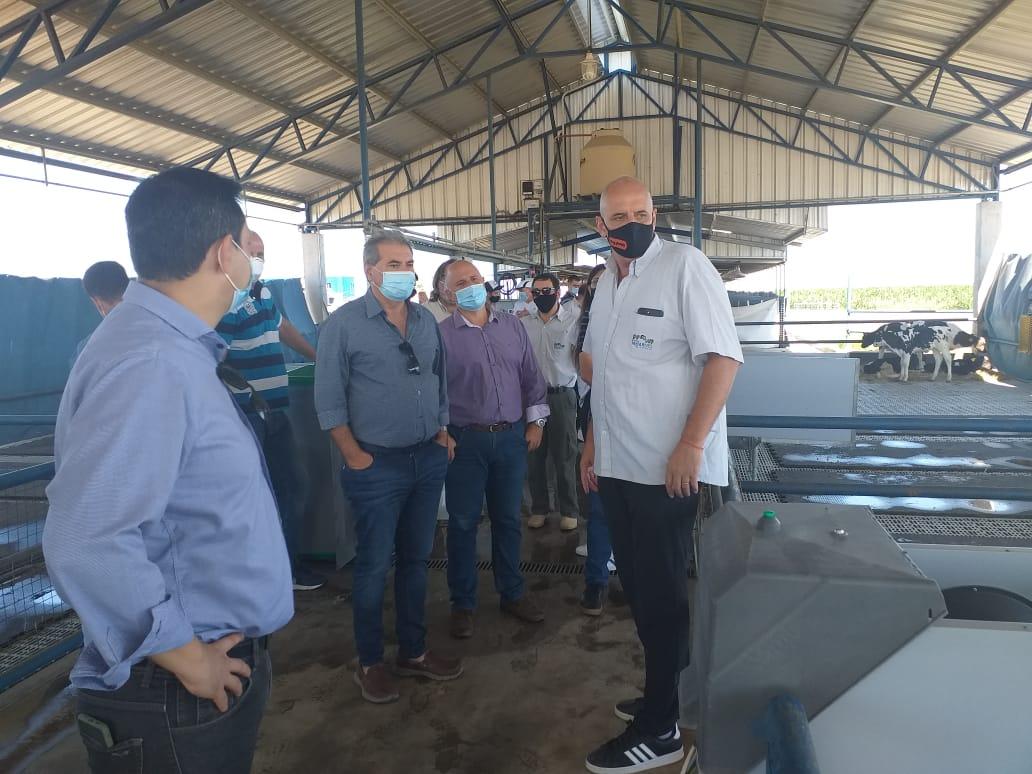 Encabezada por Sergio Busso, se reunió la Mesa Provincial Lechera en Córdoba