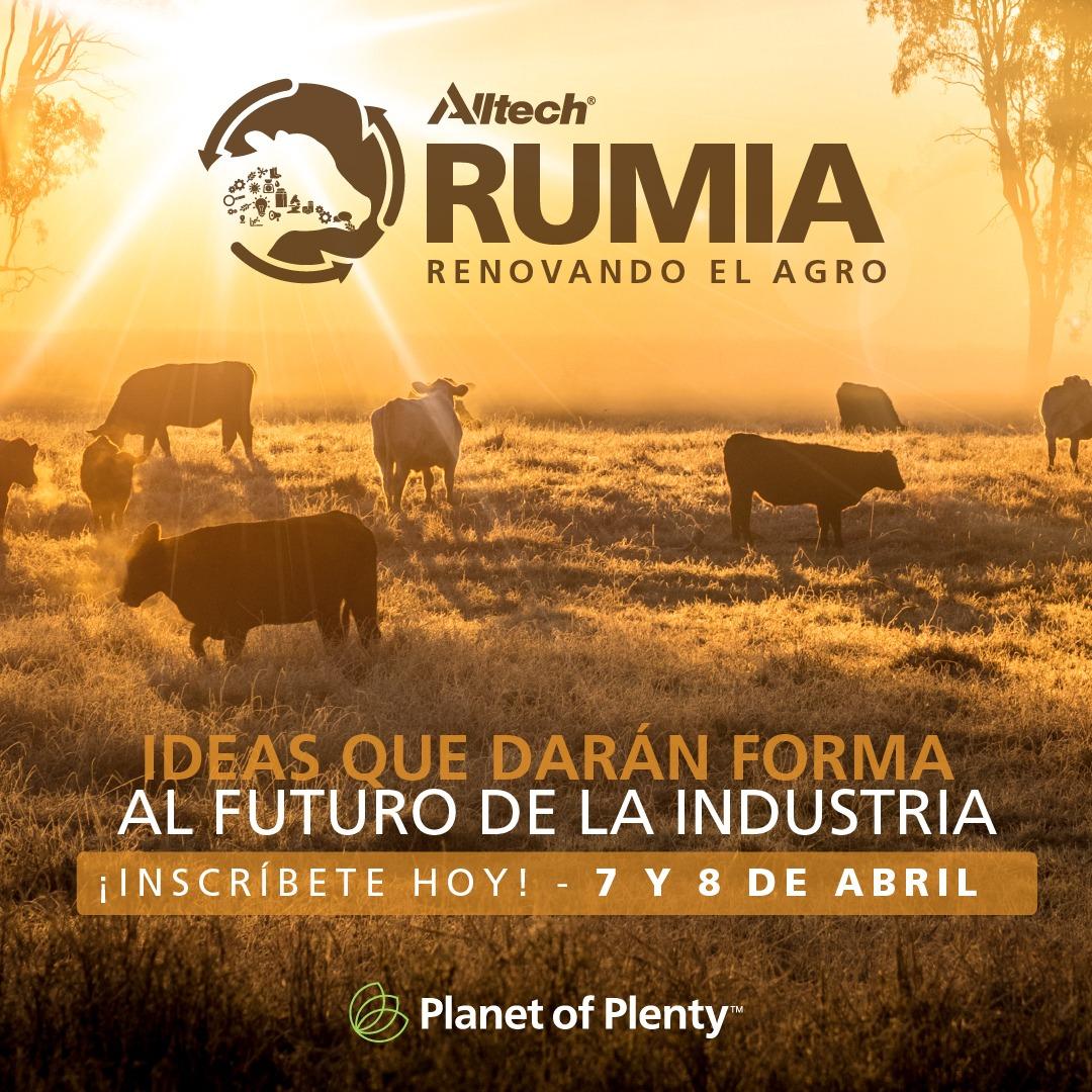 RUMIA será el foro de Alltech para evaluar la situación de la ganadería