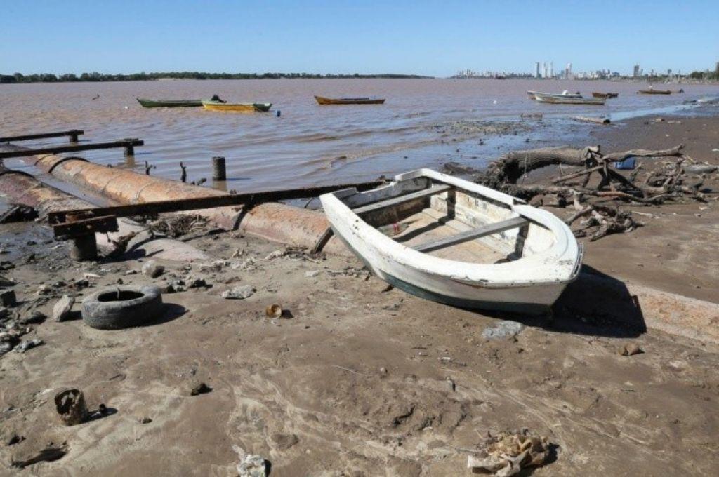 En plena cosecha gruesa, preocupa de nuevo la bajante del Río Paraná