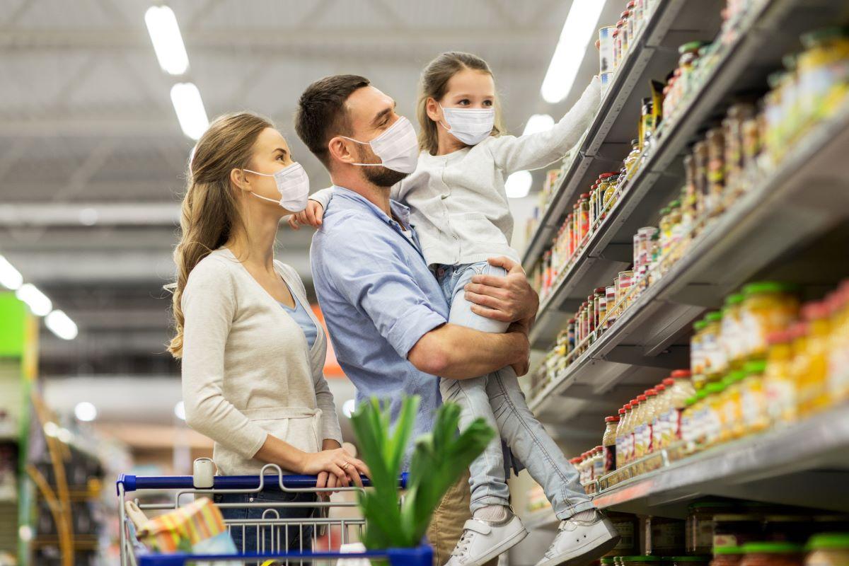En marzo '21, las ventas en los supermercados cayeron un 8,8% interanual